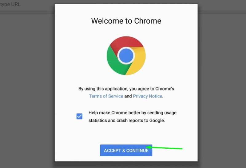 google chrome apk for amazon fire tv