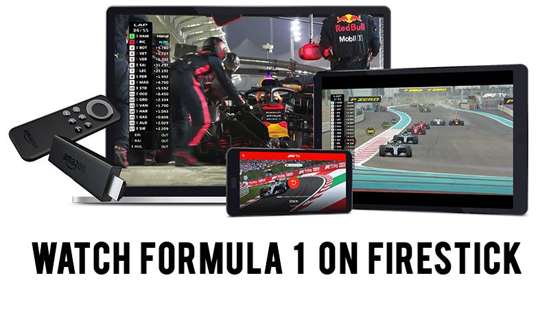 How to Watch Live F1 on Firestick & Fire TV - Italian Grand