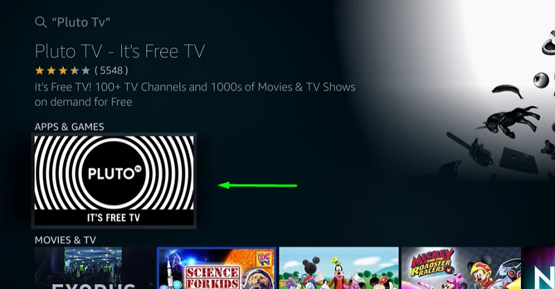 install pluto tv for firestick