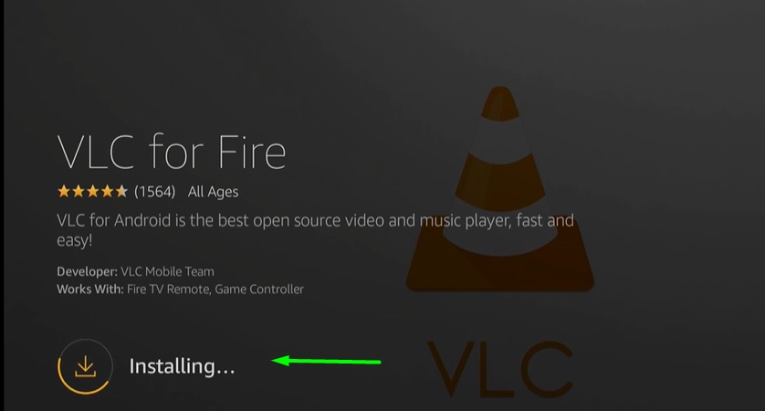 download VLC on Firestick