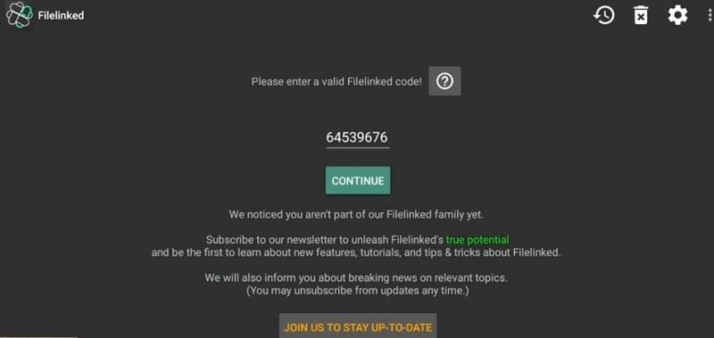 Filelinked Codes 2019