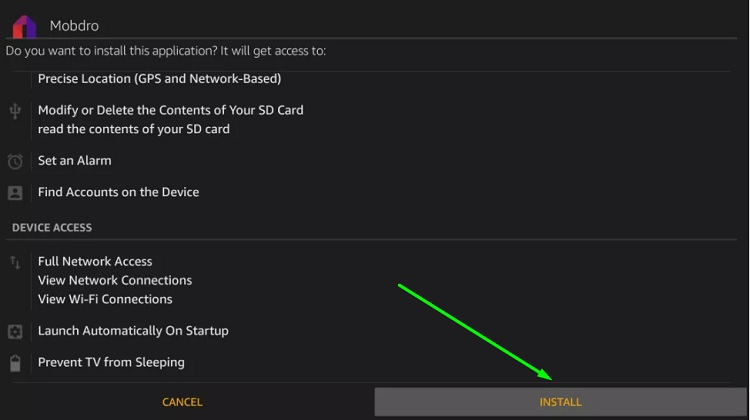 how to download mobdro on firestick