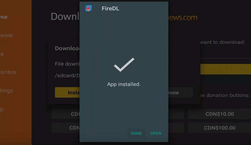 firedl codes for firestick apps
