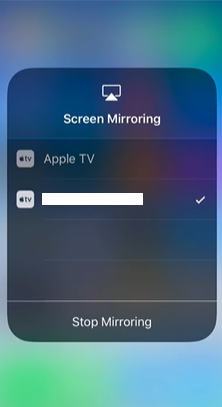 casting on firestick using iphone