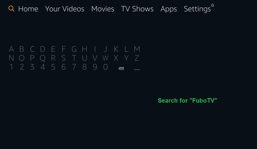 how to install fubotv on firestick