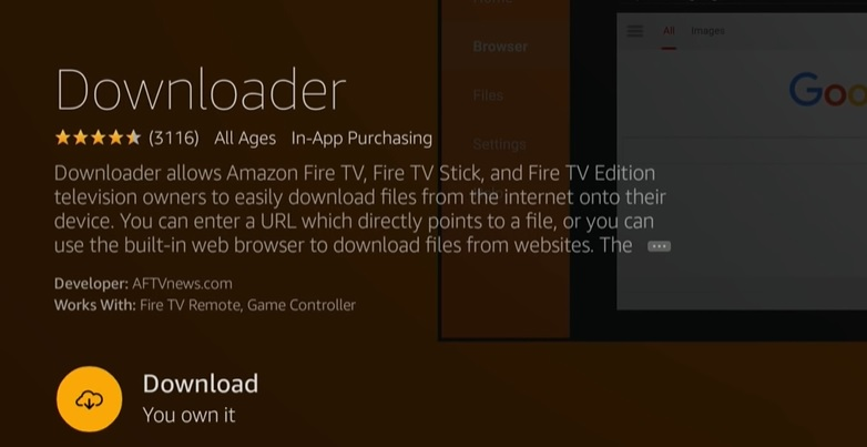 install Lime Player on Fire tv stick