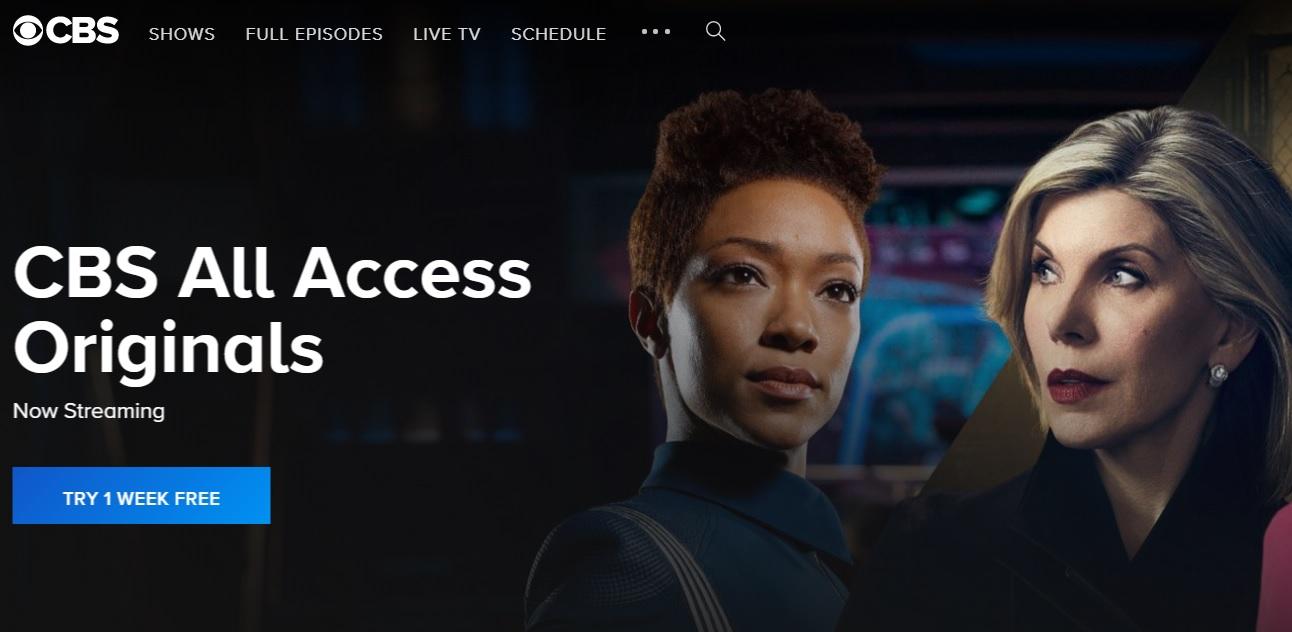 CBS on FireStick