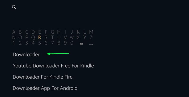 Downloader on fire tv stick