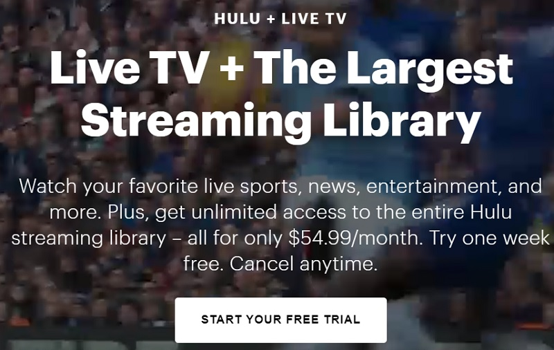 watch hulu live tv on firestick