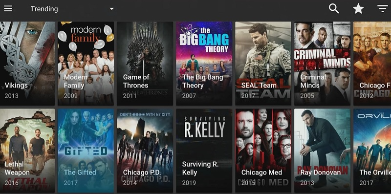 Launch Titanium TV on amazon fire tv