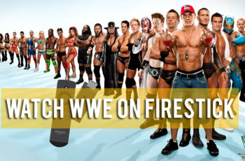 wwe on firestick