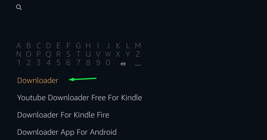 downloader on fire tv stick