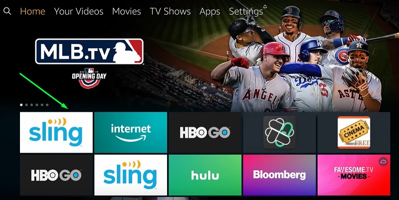 how to use sling tv