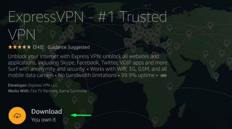 install expressvpn on firestick