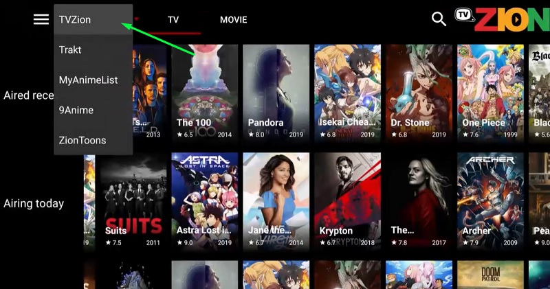 how to set up TVZion app on firestick