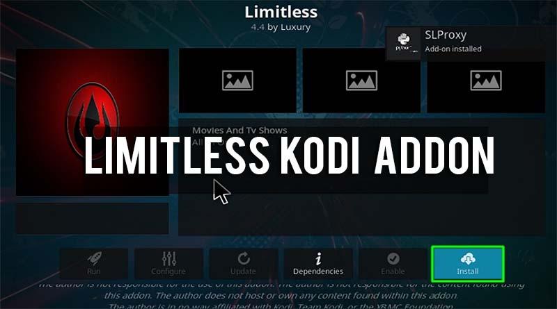 limitless kodi addon