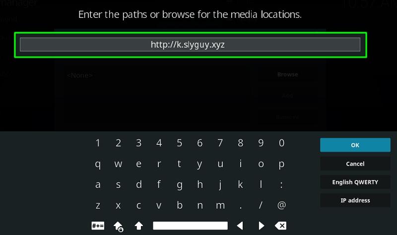 Install SlyGuy Repository on Kodi
